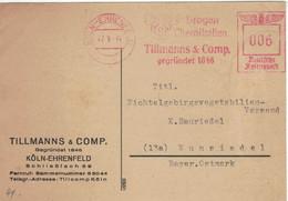 Francotyp F - Köln Ehrenfeld 1944 Drogen Chemikalien Tillmanns & Comp Seit 1846 - Farmacia