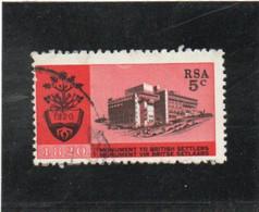 AFRIQUE Du SUD  1961  Y.T. N° 356  Oblitéré - Oblitérés