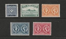1939 IONIAN ISLANDS MH* - Nuovi