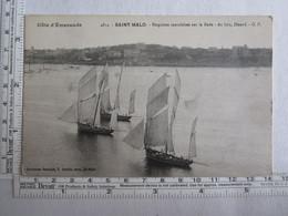 35] Ille Et Vilaine > Saint Malo Bisquines Cancalaises Sur La Rade - Saint Malo