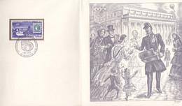 FRANCE ENCART EMISSION DE BORDEAUX  GRAVURE DECARIS N°147/2000 - Altri