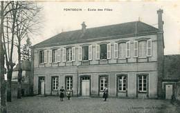 PONTGOUIN - ECOLE Des FILLES - - Other Municipalities