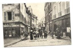 VANNES - Rue SAINT-NICOLAS - Hélard éditeur - CARTE RARE - Vannes