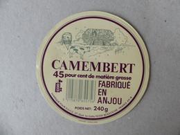 Camembert Fabriqué En Anjou Pour SGCC 240g - Kaas