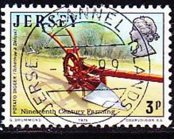 Jersey - Kartoffelpflug (MiNr: 114) 1975 - Gest Used Obl - Jersey