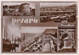 PESARO - MULTIVEDUTE F/GRANDE VIAGGIATA 1935 - Pesaro