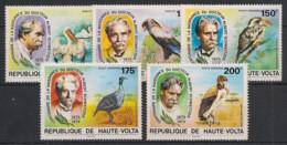 Haute Volta - 1975 - N°Yv. 357 à 358 + PA 150 à 152 - Dr Schweitzer - Neuf Luxe ** / MNH / Postfrisch - Non Classificati