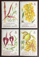 Solomon Islands 1989 Orchids Flowers MNH - Orchidee