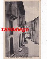 S. ANGELO DI BROLO - VIA VITTORIO EMANUELE III F/PICCOLO  VIAGGIATA ANIMATA - Messina