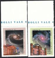 Italia 2012; Osservatorio Astronomico Di Brera E Di Capodimonte, Serie Completa - 2011-...: Mint/hinged