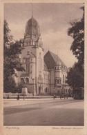 ECRIT EN ESPERANTO. MAGDEBURG, KAISER-FRIEDRICH-MUSEUM. ALLEMAGNE. CARTE POSTALE, CIRCULEE ANNEE 1923. -LILHU - Esperanto