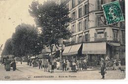 CPA  AUBERVILLIERS   Route De Flandre  N°  41 - Aubervilliers