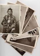 Indiani Nord America - LOTTO N. 8 Cartoline Differenti - Vedi Tutte Le Scansioni - (rif. LT3) - Native Americans