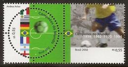BRAZIL 2002 - Football World Champions - Set MNH - Nuovi