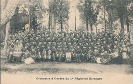 CPA - Orchestre à Cordes Du 1er Régiment Etranger - Régiments