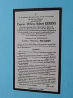 DP Eugène KENENS ( Louise BECKERS ) PEER 8 Maart 1847 - 15 Jan 1925 ( Zie Foto's ) ! - Esquela