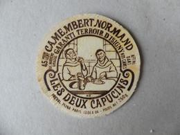 Camembert  Normand Garanti Terroir D'Isigny Les Deux Capucins Préval 250g - Kaas