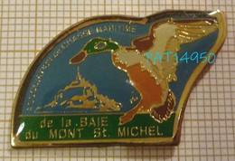 ASSOCIATION De CHASSE MARITIME De La BAIE Du MONT SAINT ST MICHEL  CANARD COLVERT - Vereinswesen