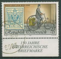 Österreich 1997 WIPA 2000 Postbote Mit Dreirad MiNr.5 2222 I Gestempelt - 1991-00 Gebraucht