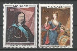 Timbre Monaco Neuf ** N 797 / 798 - Nuovi
