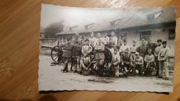 CARTE   POSTALE  PHOTO   / STRASBOURG ? / 309 Eme   REGIMENT  D  ARTILLERIE     - - War 1939-45