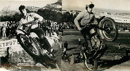 310121 - PHOTO - MOTO CROSS RALLYE COURSE - SAINTES - Moto