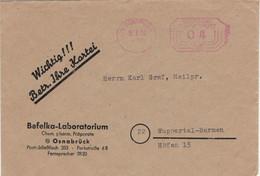 23 Osnabrück 1952 - Befelka-Laboratorium > Barmen - Farmacia
