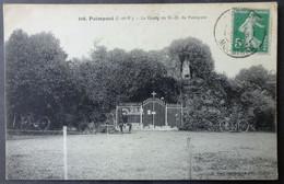 CPA 35 PAIMPONT - La Grotte De N. D. De Paimpont - Mary Rousselière 316 - Réf. D 156 - Paimpont