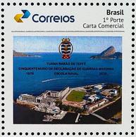 BRAZIL Personalized Stamp PB 187 Selo Personalizado Turma Barao De Teffe Marinha Militar 2020 Submarine - Non Classés