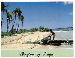 (GG 33 Ep) Tonga Fisherman (posted To Australia 1998 - But With Samoa Stamp) - Tonga