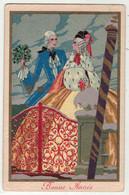 Illustrateur Non Signé // Femme Avec Manchon - 1900-1949