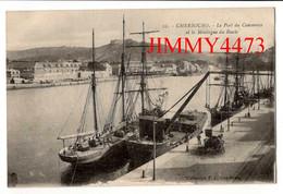 CPA - CHERBOURG 50 Manche - Le Port Du Commerce Et La Montagne Du Roule - N° 2 - Coll. F. C. - Cherbourg