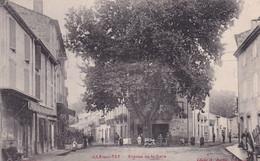 """ILLE SUR TET """" Avenue De La Gare , Animée """"   N°8344 - Unclassified"""