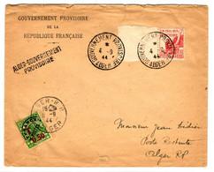 42820  - GOUVERNEMENT  PROVISOIRE ALGER - Cartas