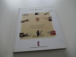 Polen Jahrbuch 2007 Book Of Postage Stamps / Ksiega Znaczkow Pocztowych Jahrgang 2007 Mit Gestempelten Marken / O - Gebruikt