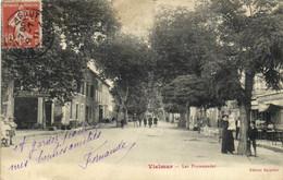 VIELMUR La Promenade Animée Quincaillerie Terrasse De Café RV - Vielmur Sur Agout