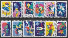 2020 FRANCE Adhesif 1930-41 Oblitérés, Voeux, Série Complète - Autoadesivi