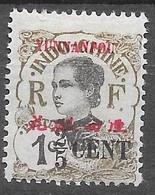1919 : Timbres De 1919 Surchargés En Cents. N°50 Chez YT. (Voir Commentaires) - Unused Stamps