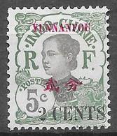 1919 : Timbres De 1919 Surchargés En Cents. N°53 Chez YT. (Voir Commentaires) - Unused Stamps