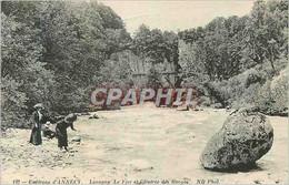 CPA Environs D'Annecy Lovagny Le Fier Et L'Entree Des Gorges - Annecy
