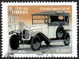 France Oblitération Cachet à Date N° 5302 - Fête Du Timbre. Citroën Type A10 HP (dentelure Moyenne) - Used Stamps