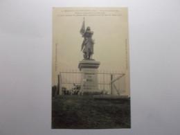 BEAULIEU LES FONTAINES Statue De Jeanne D'Arc érigée Et Inaugurée Le 15 Aout 1909 - Andere Gemeenten