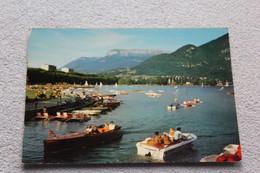 Cpm, Annecy, Le Lac Et Au Fond Le Parmelan, Haute Savoie - Annecy