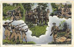 ETATS UNIS USA - U.S. Infantry - Infanterie Américaine - Armée - Army - 1941 - Other Topics