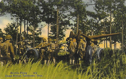 ETATS UNIS USA - Service Firing - Camp Forrest Tullahoma Tennessee - Batterie De Canon Canons - Little Rock 1941 - Other Topics