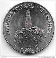Rwanda 50 Francs 2003  Km26 - Rwanda