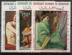Mauritanie - 1968 - Poste Aérienne PA N°Yv. 78 à 80 - Ingres - Neuf Luxe ** / MNH / Postfrisch - Mauritanië (1960-...)