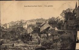 CPA Saint Benoit Du Sault Indre, Vue Generale - Autres Communes