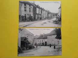 2 CARTES DE ST MARC  SUR SEINE      (GRANDE RUE)  ET  (MAISON CHAPUIS) - Autres Communes