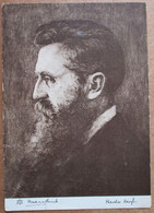 ISRAEL PERSONALITIES THEODOR HERZL FOUNDER STATE POSTCARD ISRAEL PC ANSICHTKARTE SOUVENIR POST CARD PHOTO STAMP CACHET - Israele